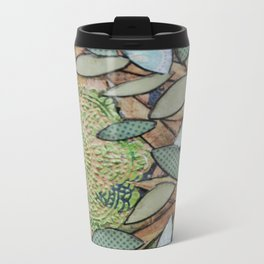 Mixed Media Metal Travel Mug