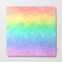 Soft Rainbow Dream Metal Print