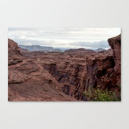 Walls of the Canyon Canvas Print