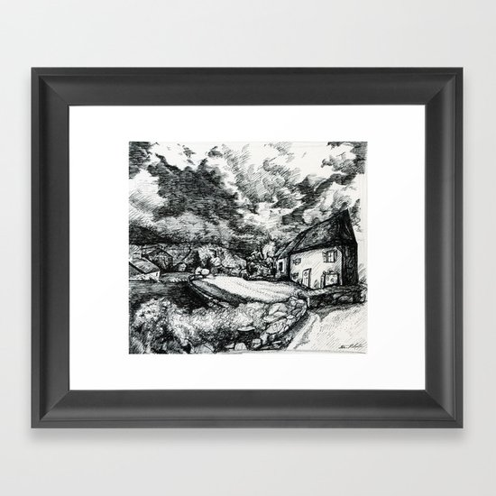 Guest House  Framed Art Print