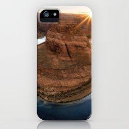 Grand Canyon National Park Horseshoe Bend At Sunset Arizona United States Ultra HD iPhone Case