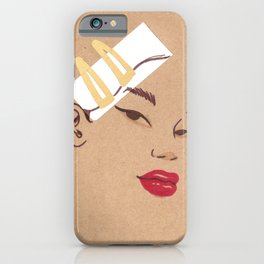 Gold in my Hair iPhone Case
