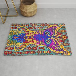 Louis Wain - A Cat Standing On Its Hind Legs - Digital Remastered Edition Rug