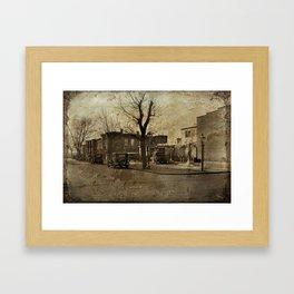 Washington 1925 Framed Art Print