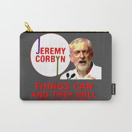 Jeremy Corbyn - Things Can Change (Labour) Carry-All Pouch