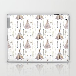 Tribal Teepee Tents and Arrows Laptop & iPad Skin