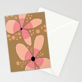 FLOWERY FLORA / ORIGINAL DANISH DESIGN bykazandholly Stationery Cards