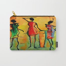 African Queens posing Carry-All Pouch