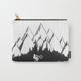MTB Mountains Forest Carry-All Pouch