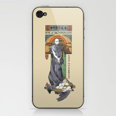Rise of the Purebloods iPhone & iPod Skin