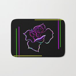 Flowermagic - Rose Bath Mat