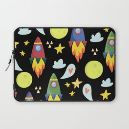 Rocket Ships Laptop Sleeve