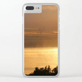 Sunrise - Tamar River - Tasmania Clear iPhone Case
