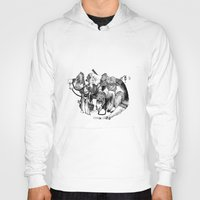 voyage Hoodies featuring Voyage by Lucie's Illustrations