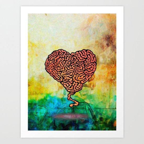 Brainheart Art Print