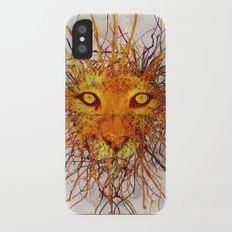 Lion Drip Slim Case iPhone X