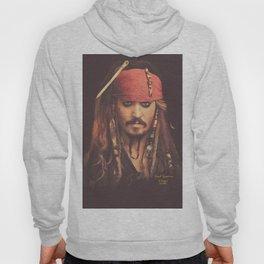 Jack Sparrow Digital Painting Hoody