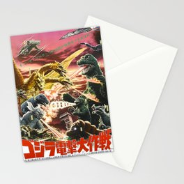 destroy all monsters Stationery Cards
