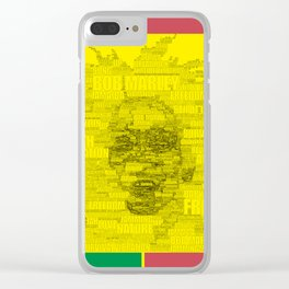 Words of Reggae Clear iPhone Case