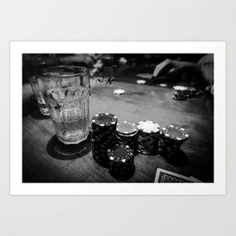 Poker Time Art Print