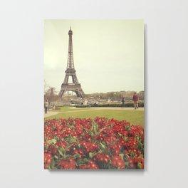 Paris Eifel Tower Metal Print