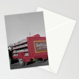 Vintage Dr Pepper Truck Stationery Cards