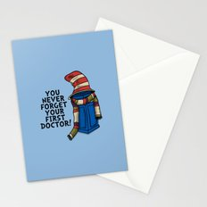 Blue Box in the Hat Stationery Cards