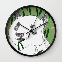 Impersonal Panda Wall Clock