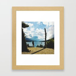 A Good Day Today Framed Art Print