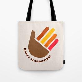 HIMYM Slapsgiving Alternative concept Tote Bag