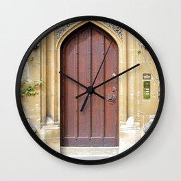 Doors Oxford 2 Wall Clock