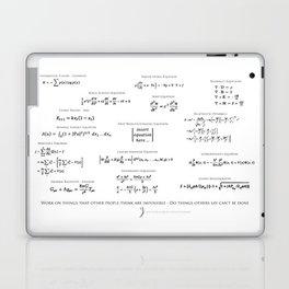 High-Math Inspiration 01 - Black Laptop & iPad Skin