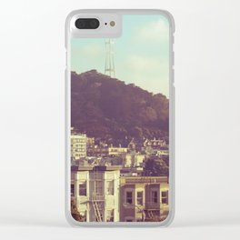 Sutro Tower Clear iPhone Case