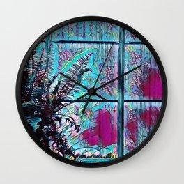 Window World Wall Clock