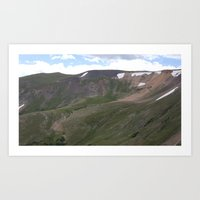 Summer in the Rockies- Fall River Pass Art Print