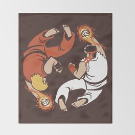 Super Yin Yang Throw Blanket