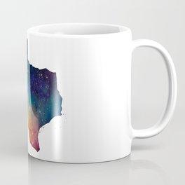 Texas Watercolor Coffee Mug