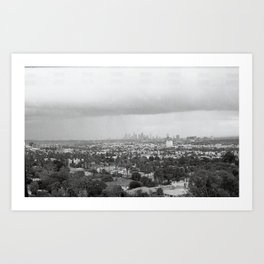 Old Time L.A. Art Print