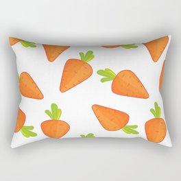carrot pattern Rectangular Pillow