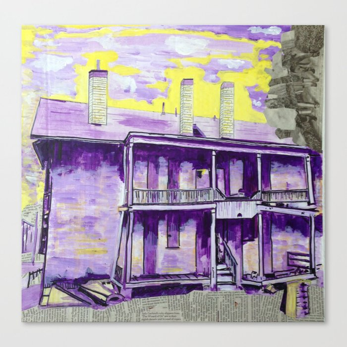 """Mill St. and Rebecca Ave."" Canvas Print"