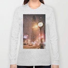 New York City Snow Long Sleeve T-shirt