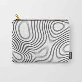 Organic Abstract 01 WHITE Carry-All Pouch