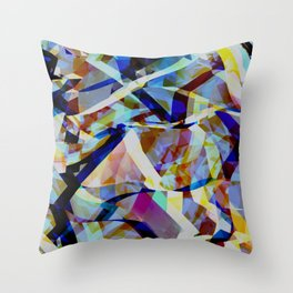 Abstract composition 309 Throw Pillow