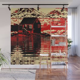 House on the Fjord Wall Mural