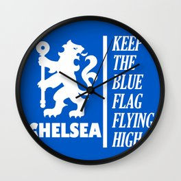 Slogan: Chelsea Wall Clock