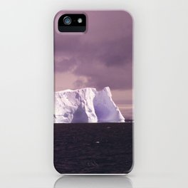 iceberg adrift iPhone Case