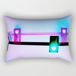 Mixed Signals Rectangular Pillow