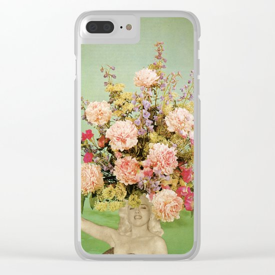 Floral Fashions II Clear iPhone Case