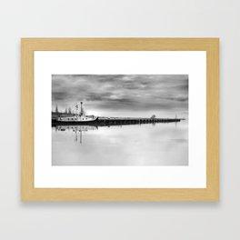 Steady Waters Framed Art Print