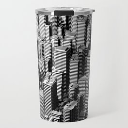 Urban Lines B&W Travel Mug